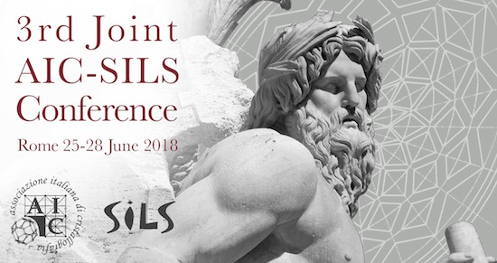 3rd Joint AIC-SILS conference
